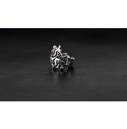 Hephaestus Silver Ring Rock Style Accessories Unisex Man Lady Fine Jewelry