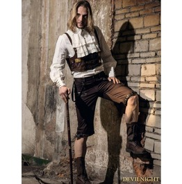 Coffee Steampunk Man Belt Vest Spm 030 Cf
