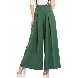 Voodoo Vixen Laura Green 40s Style Trousers