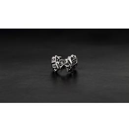 Hermes Silver Ring,Rocker Ring,Biker Ring,Jewelry,Accessories,Unisex,Man,