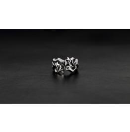 Hera Silver Ring,Rocker Ring,Biker Ring,Jewelry,Accessories,Unisex,Man,Lady