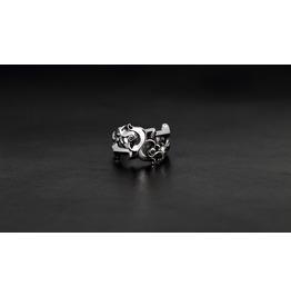 Aphrodite Silver Ring,Rocker Ring,Biker Ring,Jewelry,Accessories,Unisex,Man