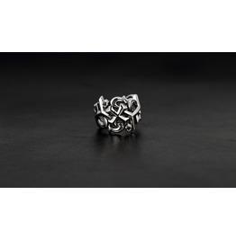 Poseidon Silver Ring,Rocker Ring,Biker Ring,Jewelry,Accessories,Unisex,Man