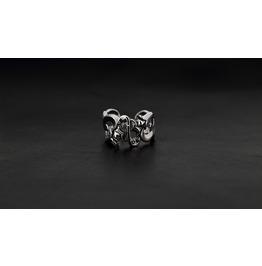 Dionysus Silver Ring,Rocker Ring,Biker Ring,Jewelry,Accessories,Unisex,Man