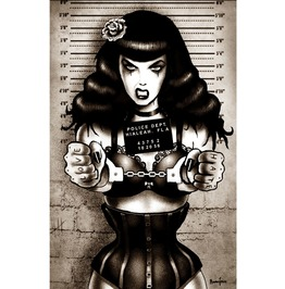 Poster Bad Bettie Mugshot