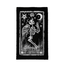 Patch The Sinner Tarot Card