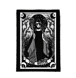 Patch The Witch Tarot Card