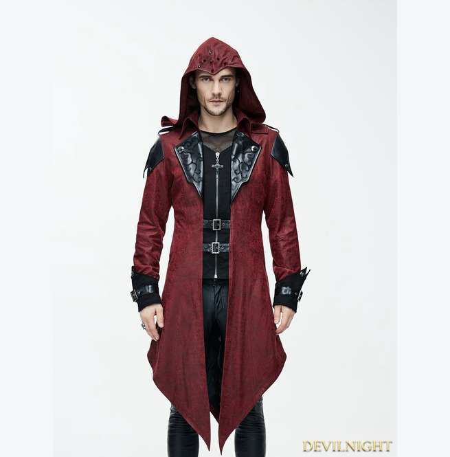 rebelsmarket_black_and_red_vintage_pu_leather_gothic_trench_coat_for_men_ct06902_coats_8.jpg