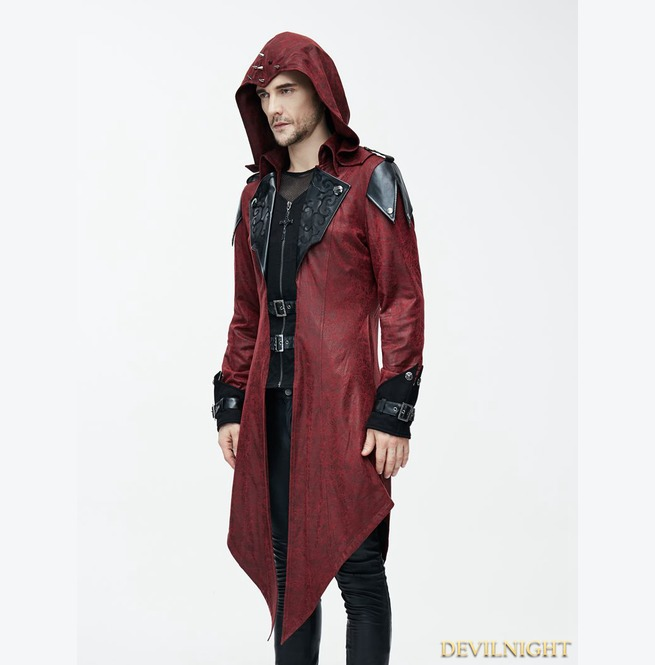 rebelsmarket_black_and_red_vintage_pu_leather_gothic_trench_coat_for_men_ct06902_coats_7.jpg