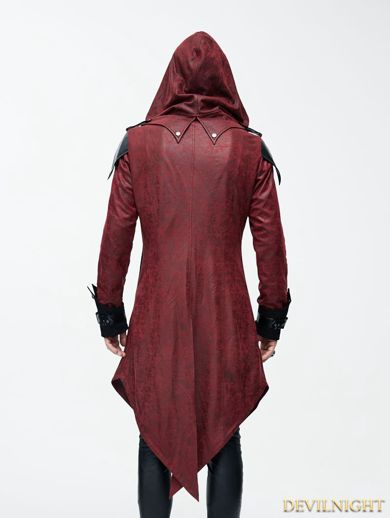 rebelsmarket_black_and_red_vintage_pu_leather_gothic_trench_coat_for_men_ct06902_coats_6.jpg