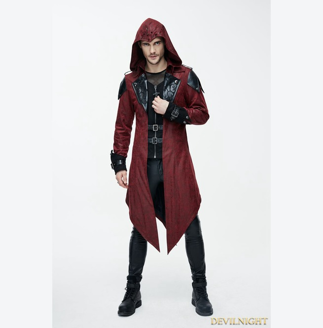 rebelsmarket_black_and_red_vintage_pu_leather_gothic_trench_coat_for_men_ct06902_coats_5.jpg