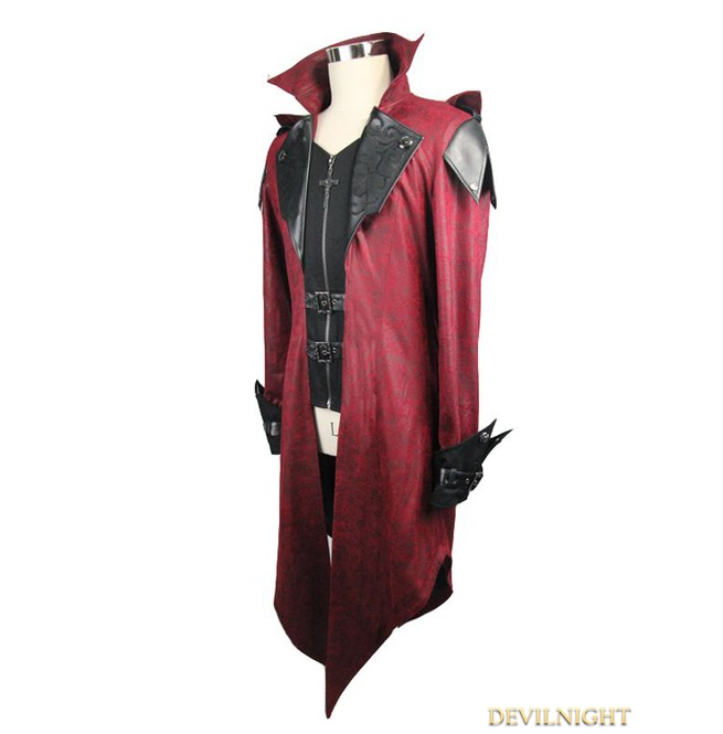 rebelsmarket_black_and_red_vintage_pu_leather_gothic_trench_coat_for_men_ct06902_coats_3.jpg