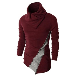 Zipper Design 2 Color Assassins Creed Hoodies Sweatshirt Men