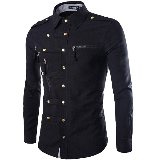 rebelsmarket_steampunk_slim_fit_double_pocket_buttons_design_military_cargo_dress_shirt_shirts_6.jpg