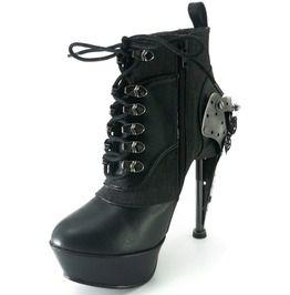 65c1a3f63b21 5   Spiked Heel Butterfly Gears Boots