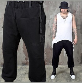 Stitched Bulging Line Banding Sweatpants 269