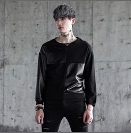 Designer Collection Spliced Mens Casual Sweatshirts