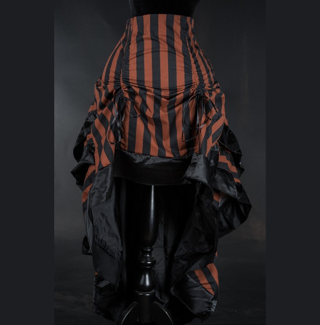 rebelsmarket_brown_black_striped_long_bustle_3_layer_victorian_goth_steampunk_skirt__skirts_3.jpg