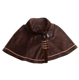 Victorian Steampunk Mini Cape Lolita Short Cloak Cape