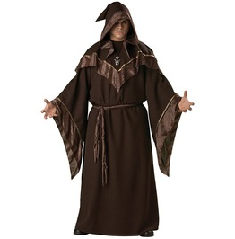 European Religious Men Priest Gothic Wizard Costume