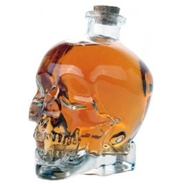 Crystal Skull Cork Decanter