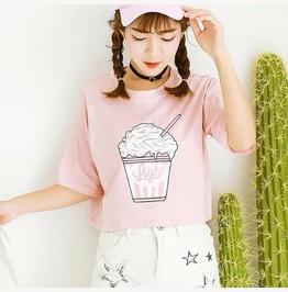Milkshake T Shirt / Camiseta Batido Wh424