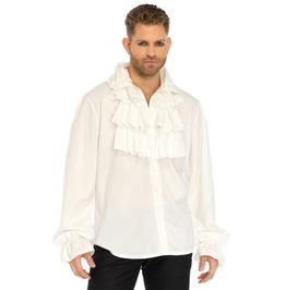 Men's Vampire Ruffle Front Shirt