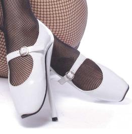 Women's Ballet Extreme White Mary Jane Shoe