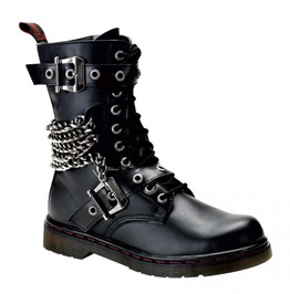 Men's Grunge Defiant 204 Chained Ankle Boot