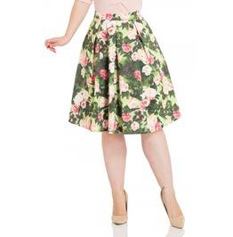 Voodoo Vixen Prim Floral Skirt