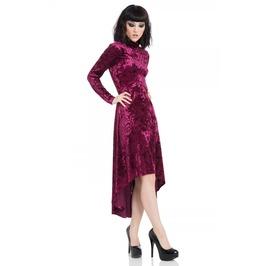 Voodoo Vixen High And Low Velvet Dress