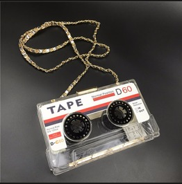 Music Tape Bag / Bolso Cassette Wh430