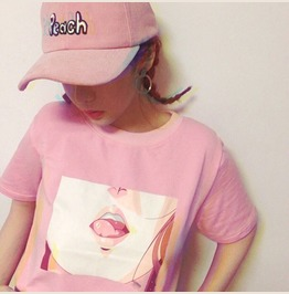Tongue T Shirt / Camiseta Lengua Wh431
