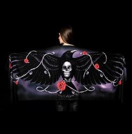 Dark Raven Wings Scarf