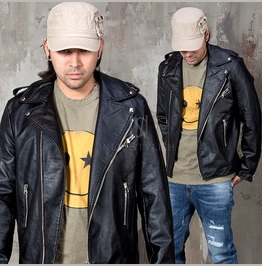 Classic Leather Rider Jacket 108