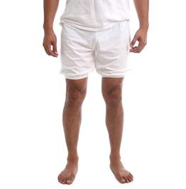 Rtbu Men Iyengar Yoga Dance Ballet Pilates Cotton Bloomer Shorts White