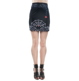 Women's Black Widow Mini Skirt