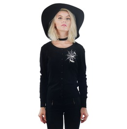 Women's Bats And Webs Knit Cardigan