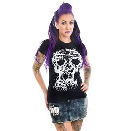 Women's Tree Skull Babydoll T Shirt