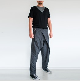 Dark Gray Sweatpants Mens Yoga Pants Loose Pants