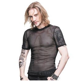 Men's Short Sleeve Mesh T Shirt