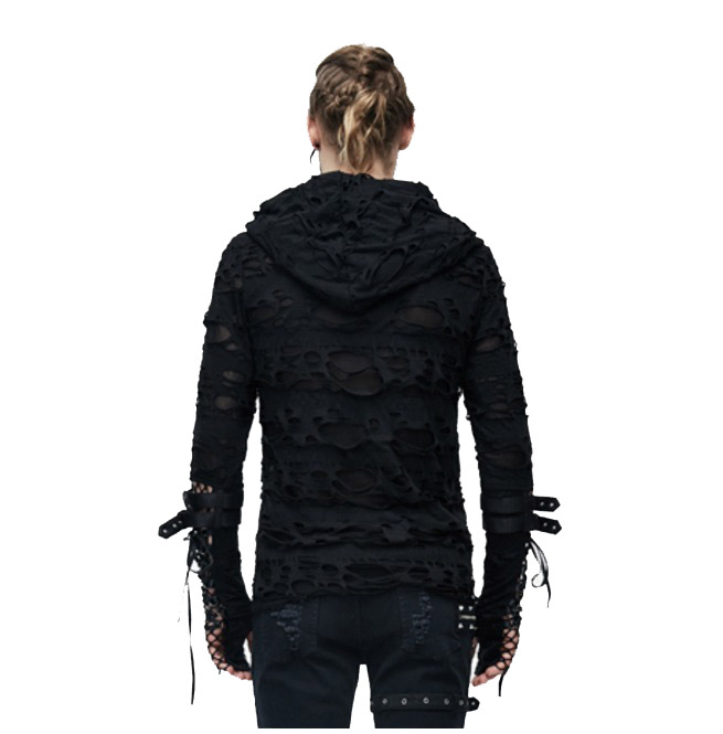 rebelsmarket_mens_black_tattered_long_sleeved_hooded_top_t_shirts_3.jpg
