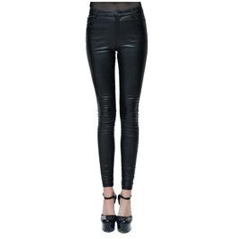 Women's Skinny Sexy Pockets Black Pants