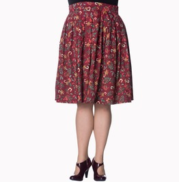 Banned Apparel Autumn Leaves Skirt