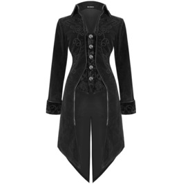 Women's Charlemagne Jacket Long Tail Custom Made Victorian Fashion Coat