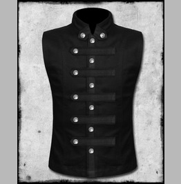 Custom Made Goth Men's Vest