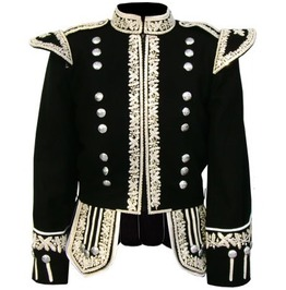 Goth King Luxurious Royal Men's Hand Embroidered Jacket In Custom Fit