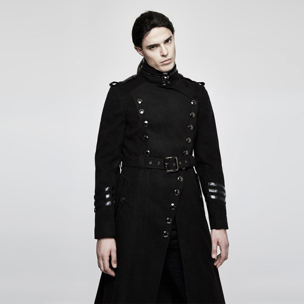 rebelsmarket_mens_black_long_belted_goth_coat_with_military_buttons_free_shipping_vests_11.jpg