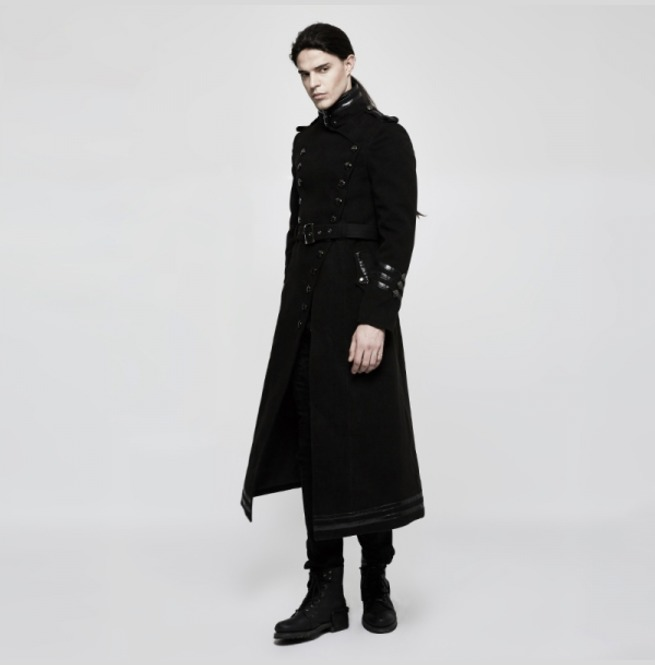rebelsmarket_mens_black_long_belted_goth_coat_with_military_buttons_free_shipping_vests_3.jpg