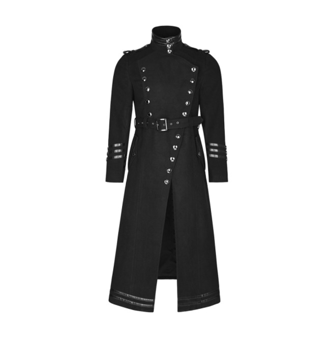 rebelsmarket_mens_black_long_belted_goth_coat_with_military_buttons_free_shipping_vests_2.jpg